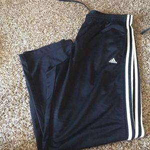 Adidas track pants (L)